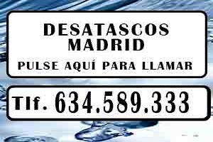 Desatascos Madrid ECONOMICOS 🌊 Urgentes