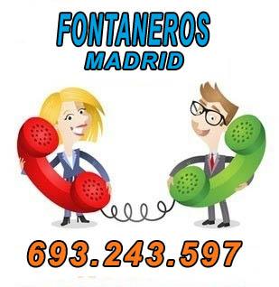 fontaneros en Madrid