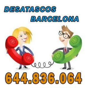 desatascos en Barcelona