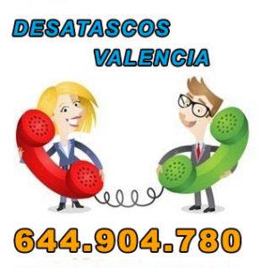 desatascos en Valencia